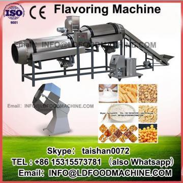 Automatic chocolate flavored popcorn production machinery/masala coating machinery/flavoring machinery