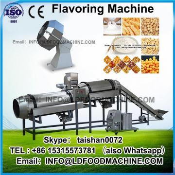 Bottom price flavored corn flakes make machinery/popcorn sugar coating machinery