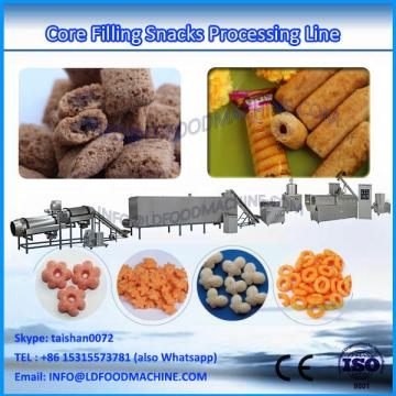 Automatic cream chocolate filled snacks processing machinery line price