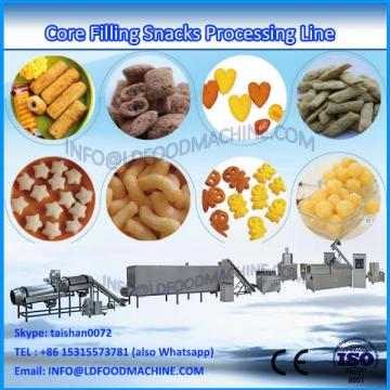Stainless Steel Core Filled Puffed corn Snack chips machinerys