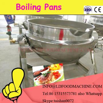 inclinable jacketed pan with mixing function