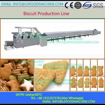 LD Mini Capacity Gas Oven Flat Wafer Biscuit Production Line