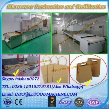 tea microwave leaf drying machinery