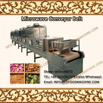 Industrial Conveyor belt LLDe Microwave Oven For Peanut Roasting machinery