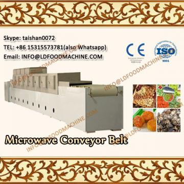 tunnel microwave processing machinery for herbs