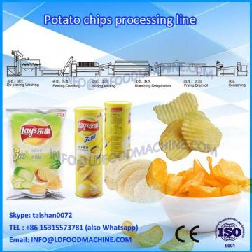 Semi-automatic potato chips machinery price, best selling 30-50kg/h potato chips make machinery