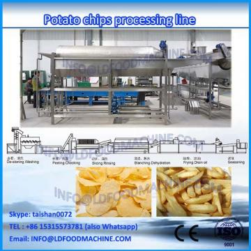 Industrial price output 80kg/h small manufacturing machinerys /complete line patato chips make machinery -