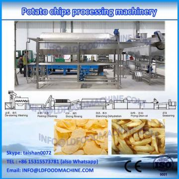 automatic potato chips french fries processing machinery