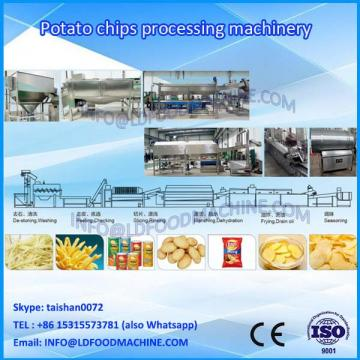 french fries processing plant production line