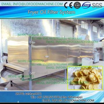 Frying machinery for green peas