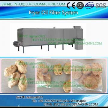 Continuous snacks fryer