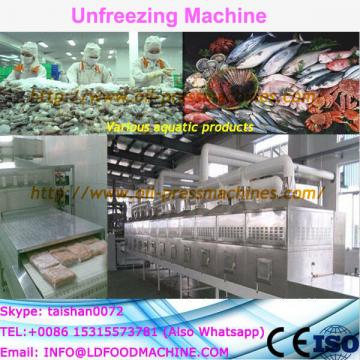 Best selling frozen fish unfreezing plant/microwave fish thawing equipment/unfreezer thawer