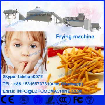 puff snack batch frying line