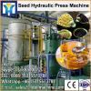 Small soya oil processing factory for oil machine