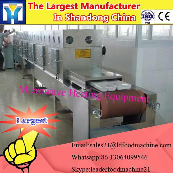 tunnel microwave nut drying machine