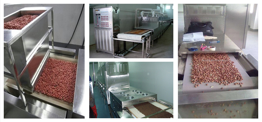 Industrial bean/peanut microwave dryer machine