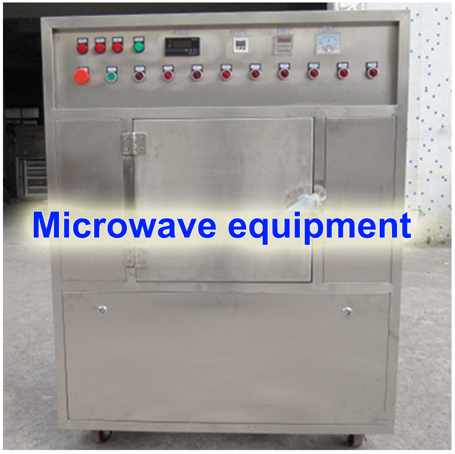 Frozen peas continuous belt microwave drying machine / food microwave tunnel dryer