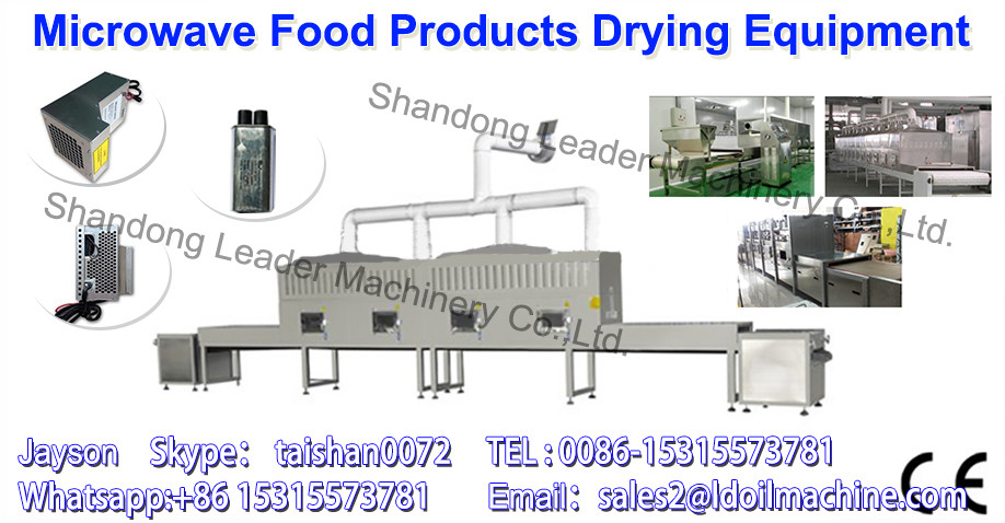 China supplier microwave drying machine for egg powder