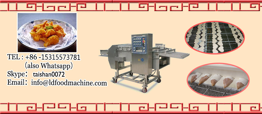Industrial Double Flat Pan ile Food Cart with Frozen Yogurt machinery