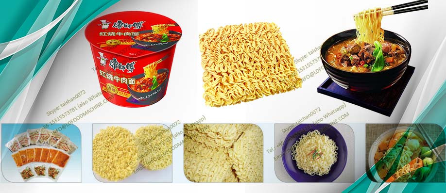 Steam Fryer Instant Noodle make machinery