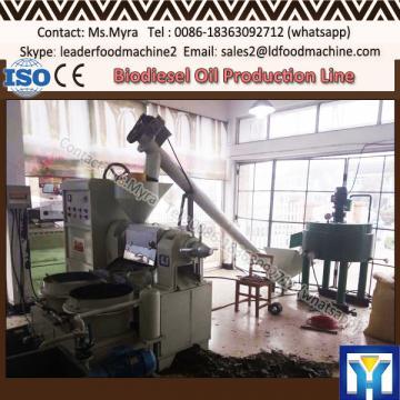 Save labour pyrolysis oil refine machine