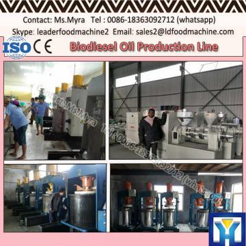 Advanced technology oil palm refinery machine