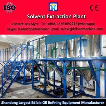 Certificate crude soybean oil refinery equipment