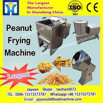 Compact floor space peanut machinery peanut equipment peanut fryer