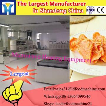 Best seller Microwave tea leaves drying equipment