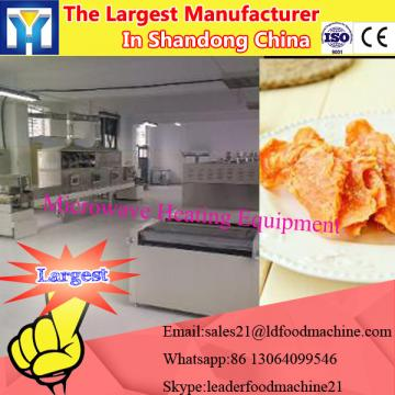 Microwave fruit and vegetable drying machine