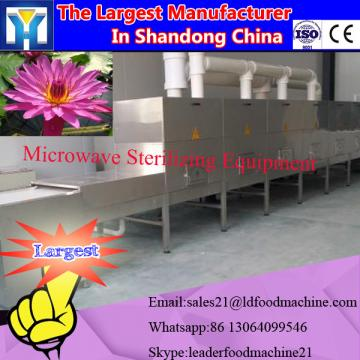 batch type microwave vacuum fish drying machine