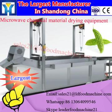 Microwave desiccated coconut drying machine and sterilizer