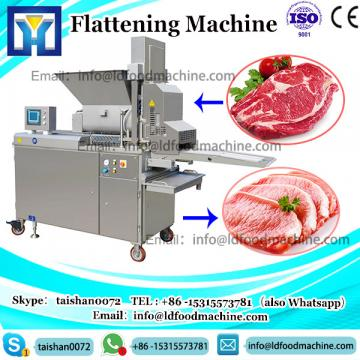 Automatic Fresh Meat Flattening machinery For Steak Processing