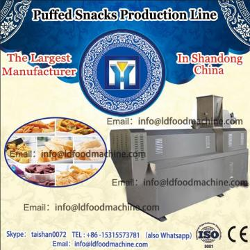 high quality stainless steel corn puff snack extruder