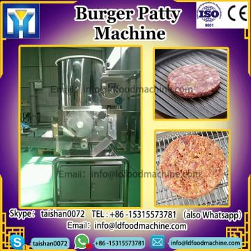 Patty burger food make machinery
