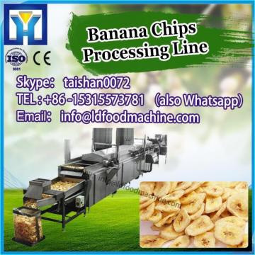 Automatic Electric Fried Plain Wavy Banana Chips make machinery