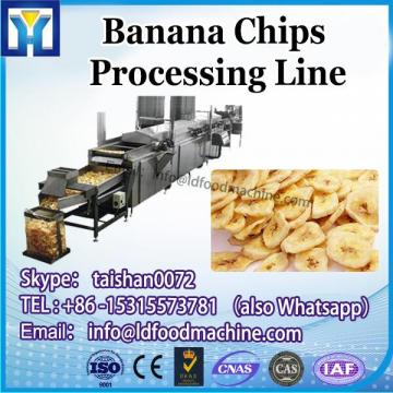 Export to Algeria Frozen French Fried Full Automatic Potato Banana Chips Plant