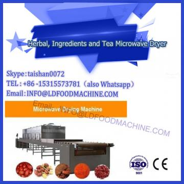 Stainless steel tunnel microwave black pepper drying equipment (86-13280023201)