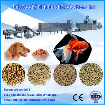 Factory price different output pet food pellet extruder machinery for dog fish cat LDrd