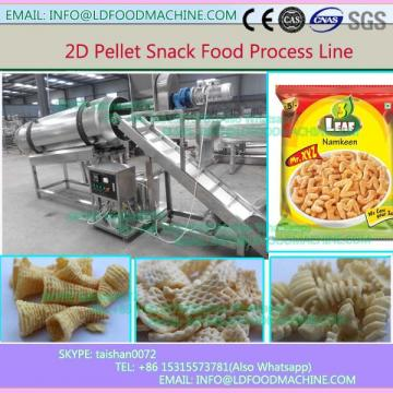 Economical best crisp 2D/3D snack pellets manufacturing