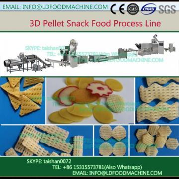 2017 best selling Fry Corn Flour Pellet 3D Snacks machinery