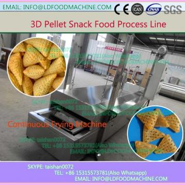 Best selling 2d / 3d shapes pellets fried  extruder machinery / producton line