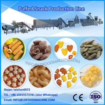 Chees puffs cheese snacks food make machinery Puffed chees corn snacks food extruder