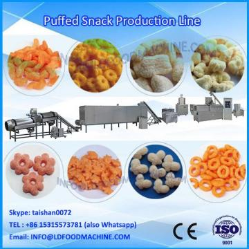 Cheese puffs snacks food machinery
