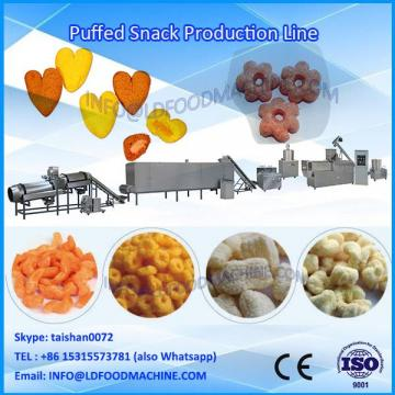 Puffed corn snacks food extruder machinery corn snacks food processing line