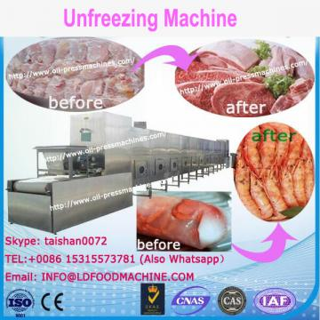 Cheap frozen seafood thawing equipment/frozen beef unfreezing machinery