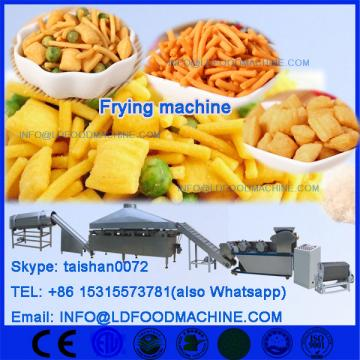 corn pellet snack deep fryer machinery