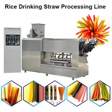 Pasta rice drinking straw machine rice straw cutting machine
