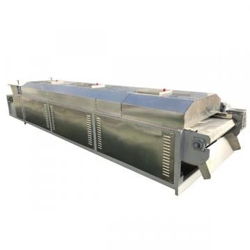 Industrial conveyor belt microwave sponge drying equipment