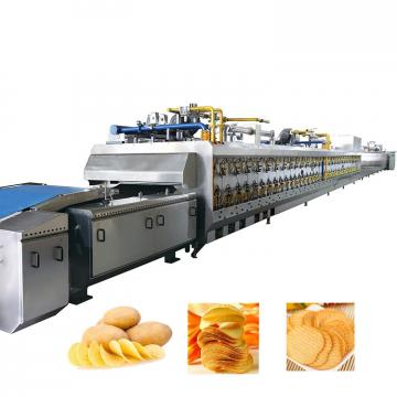Easy Operation Fresh Potato Chips Processing Line
